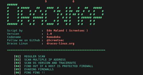 tutorial nmap indonesia dracnmap exploit network and gathering information with