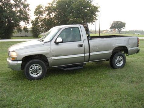 auto body repair training 2000 gmc sierra 2500 security system purchase used l k a good texas work truck 2000 gmc sierra 2500hd 6 0 auto trans regular cab in