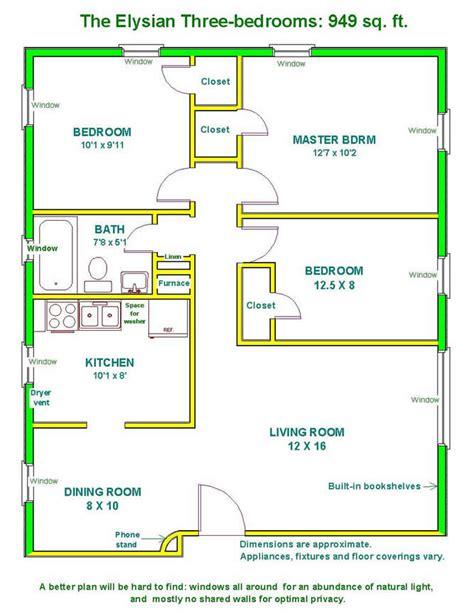 3 bedroom floor plan with dimensions 3 bedroom floor plan with dimensions photos and wylielauderhouse