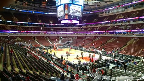 united center section 108 united center section 119 chicago bulls rateyourseats com