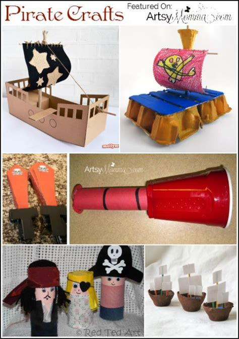 pirate craft ideas for 17 best ideas about pirate crafts on