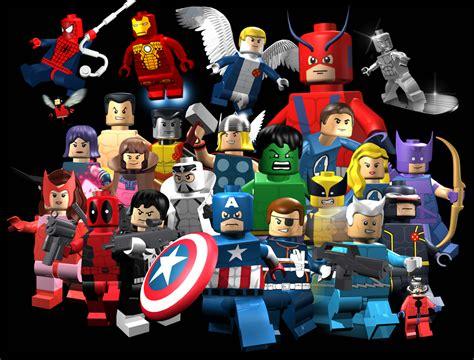 tutorial lego marvel superheroes tous les h 233 ros de lego marvel super heroes en vid 233 o