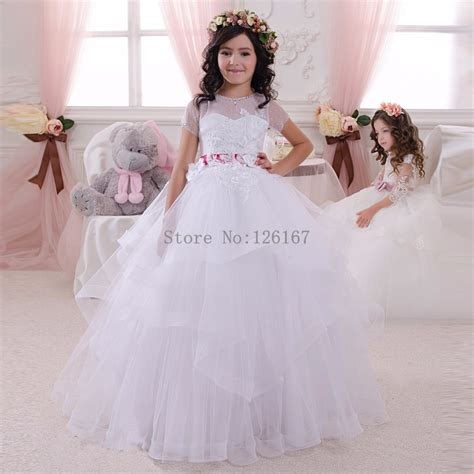 Sale Pink Lace Dress 3 Tahun Dress compare prices on flower gowns shopping buy