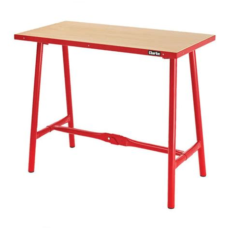 foldable work bench clarke cwb10f heavy duty folding workbench