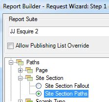 arb section 1 filtering a path report using the request wizard