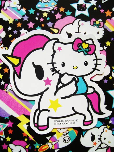 hello kitty tattoo wallpaper hello kitty unicorno kawaii pinterest hello kitty