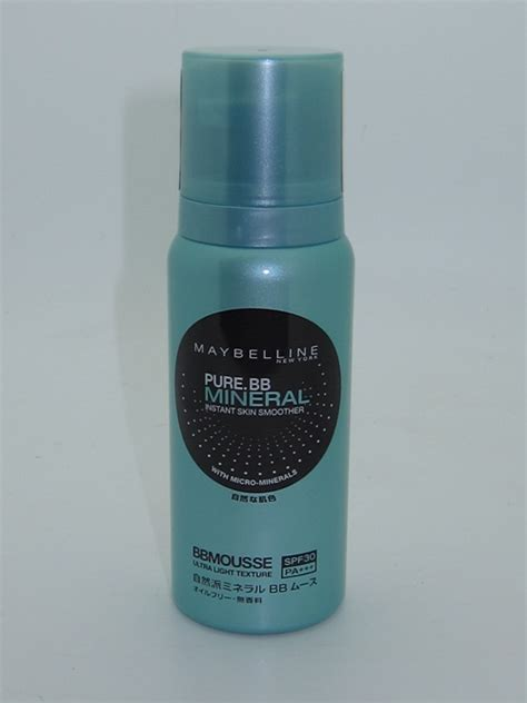 Maybelline Mineral Bb maybelline bb mineral instant skin smoother bb mousse review swatches musings of a muse