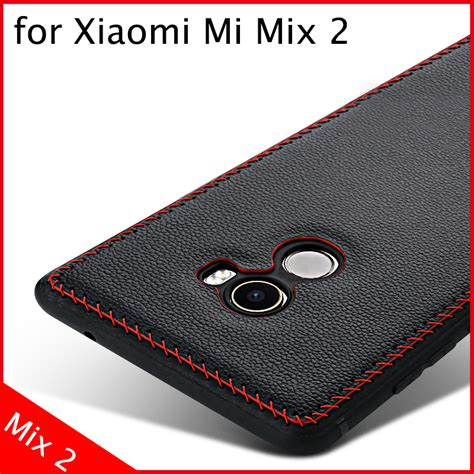 aliexpress xiaomi mi mix 2 new 6 colors tscase brand genuine cow skin soft tpu back
