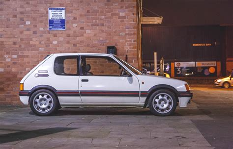 pug gti peugeot 205 gti should you meet your heros pug205