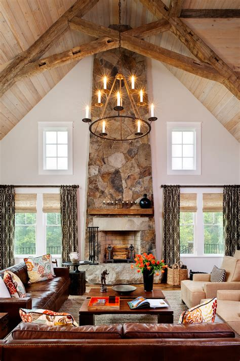 candice fireplace surround ideas living room rustic