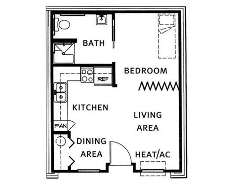 Apartments Garages Floor Plan Garage Conversion Flat Annex Extension