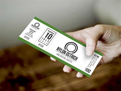 event ticket in hand psd mockup psd mockups