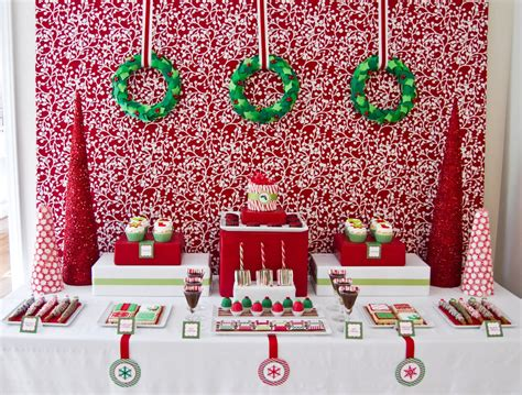 christmas event ideas 5 table decorations