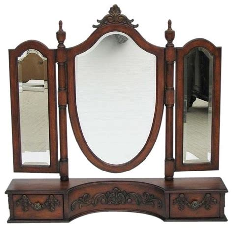 drilled bathroom mirrors dressing mirror victorian pre drilled traditional wall