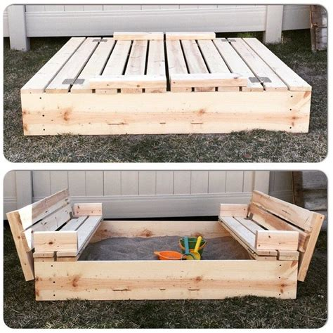 diy pit cover 35 diy sandboxes ideas your will