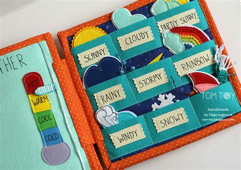 Handmade Busy Book - tomtoy book for sergio