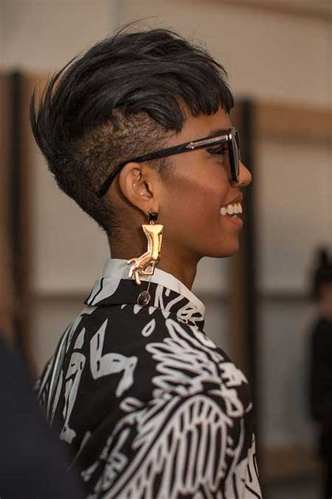 side cut hairstyles for women 25 pictures of short hairstyles for black women short