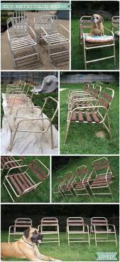 wouldn t it be lovely diy patio chair before after