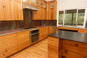 Real Wood Cabinets Jason Straw Woodworker Heart Pine Kitchen Cabinets