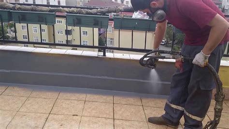 teras su izolasyonu alinstech  yil garanti youtube