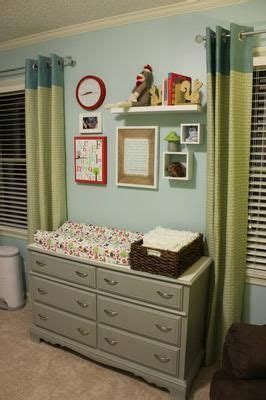 Decor Above Dresser Changing Table Our Modern Woodland Nursery Changing Table Ideas