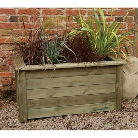 Garden Planters Wooden forest garden planter kit 2 sizes large compost capacity