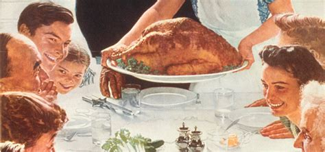 norman rockwell dinner table the permanent tourist 187 gratitude 101