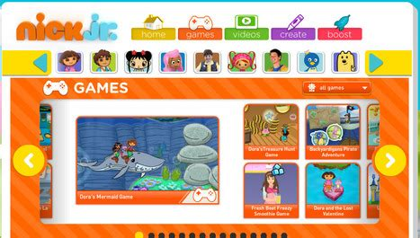 Nick Jr. Games   Nick Jr. Online Games   Nick J