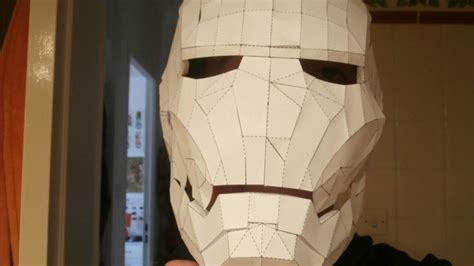 How To Make A Helmet Out Of Paper - iron helmet paper creation