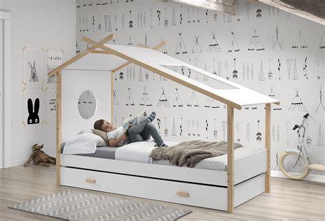 kinder hausbett hausbett cocoon komplett mit einzelbett und