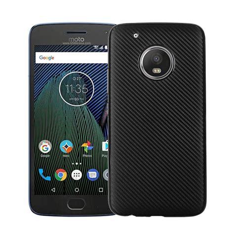 Motorola Moto C Plus Softcase Carbon Fiber Rubber Rugged Soft Tpu carbon fiber soft tpu protection phone cover for motorola moto g5 plus black tvc mall