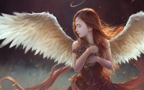 wallpaper girl angel download fantasy angel girl wallpaper for desktop mobile