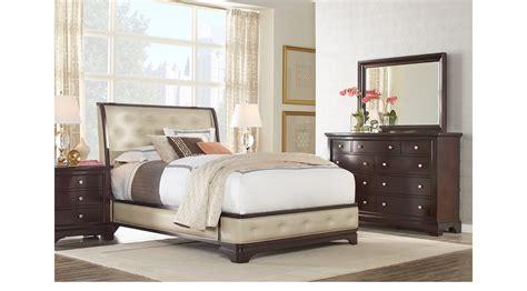 furniture of america kylen 3 piece upholstered queen upholstered bedroom sets