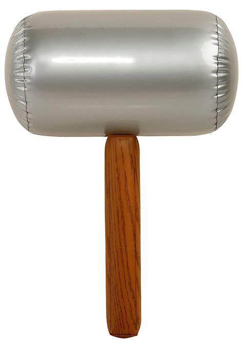 large inflatable hammer super mario bros costume accessories