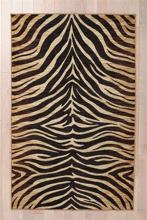 tiger print rugs tiger print rug outfitters