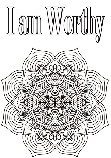 self esteem coloring sheets pages coloring pages respect