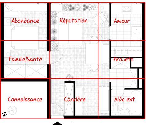 Plan Feng Shui Maison 2973 by Feng Shui Orientation Maison Ventana