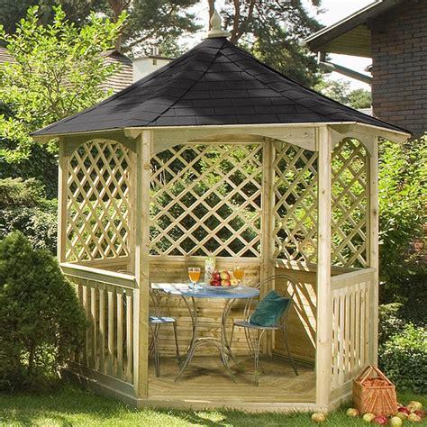 arredo da giardino in legno gazebo da giardino in legno winchester bsvillage