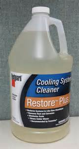 Fuel System Restore Fleetguard Restore Plus Cooling System Cleaner Cc2638
