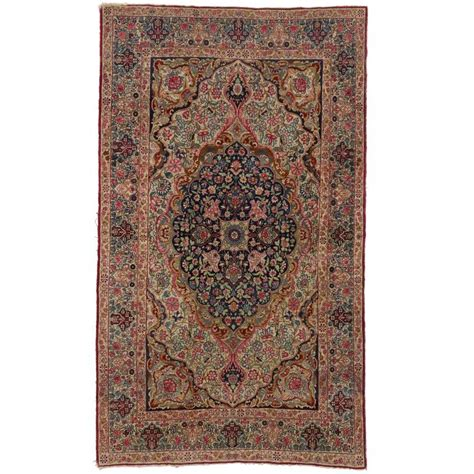 kermanshah rugs late 19th century antique kermanshah rug with nouveau style for sale at 1stdibs