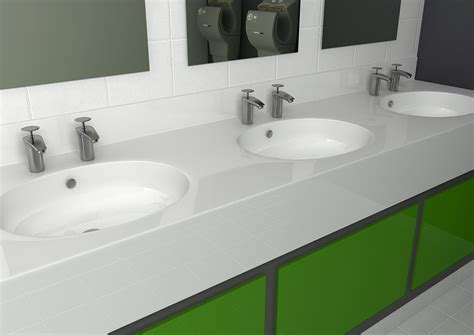 corian vanity unit decrobond vanity units