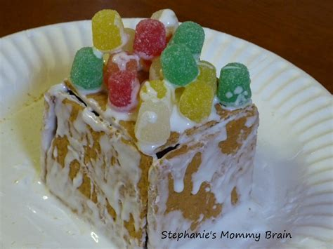 Graham Cracker Gingerbread House by S Brain How To Make A Graham Cracker