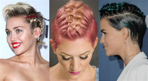 braided pixie cut cutest braids for short hair to try today hairdrome com