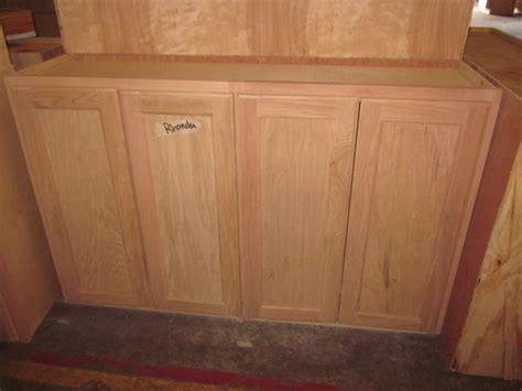 48 inch kitchen cabinets 48 quot inch all wood unfinished stain grade oak kitchen wall