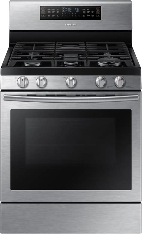 Samsung NX58J7750SS 30 Inch Flex Duo Gas Range with 5.8 cu