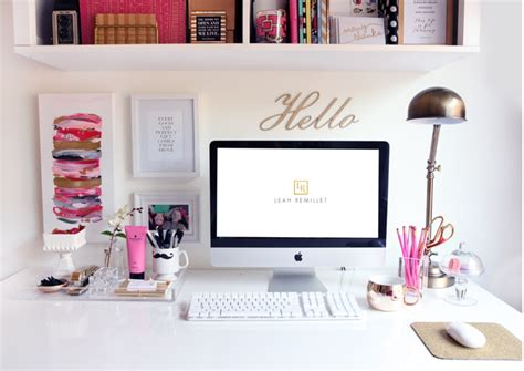 how to decorate your desk at home office inspiration beautiful places to create gather
