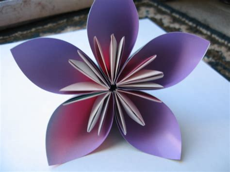 origami kusudama flower 2 by origamigenius on deviantart