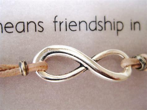 Infinity Symbol Friendship Infinity Symbol Friendship Bracelet Leather Infinity