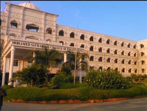 St Joseph College Chennai Mba Fee Structure by Mohamed Sathak Aj College Of Engineering Chennai