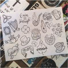 tattoo ink out of sheets tattoo flash sheet metallic tattoos pinterest tattoo